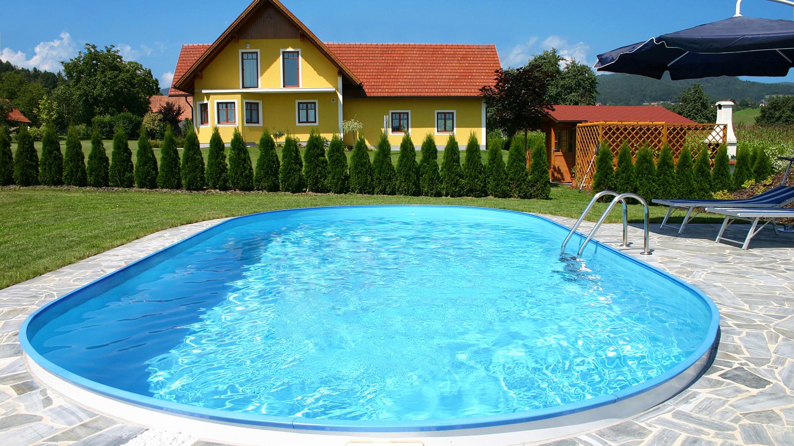 Exklusiv stahlwandbecken ovalform plus mein for Stahlwandbecken pool